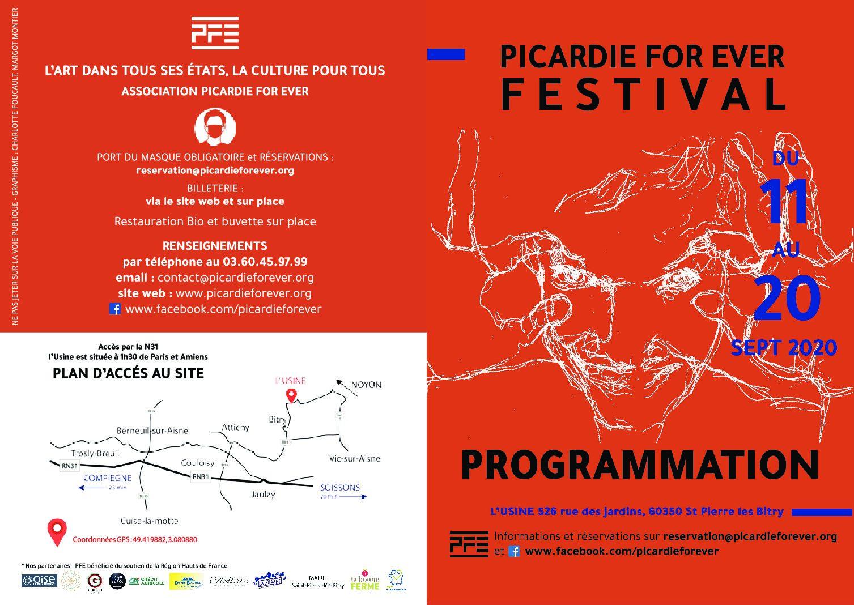 Festival Picardie For Ever – du 11 au 20 septembre 2020