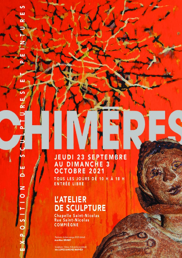 Chimères   Expo collective   23 sept – 3 oct 21